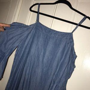 Francesca's denim dress